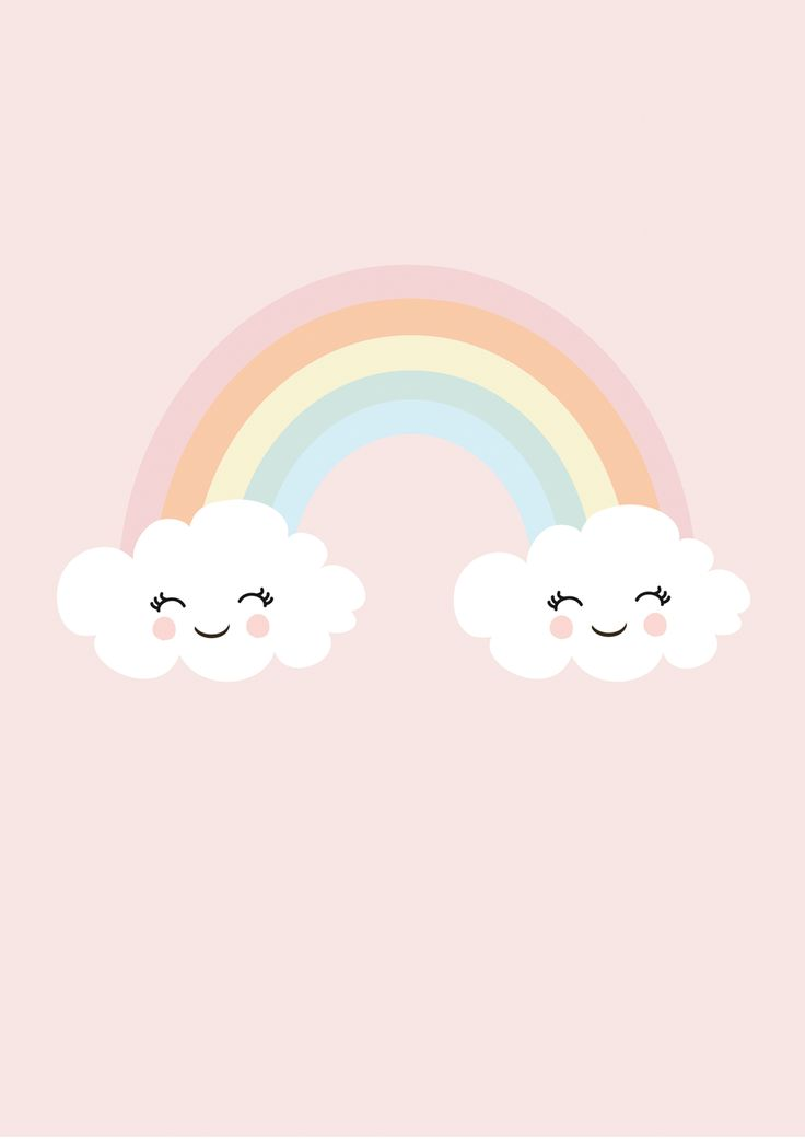 Print Happy Rainbow