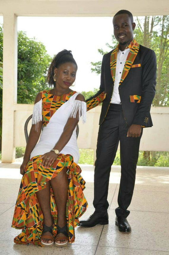 b881914f400 African Couple s outfit  prom dress ankara men outfit  wedding gown wedding  suit african men s cloth