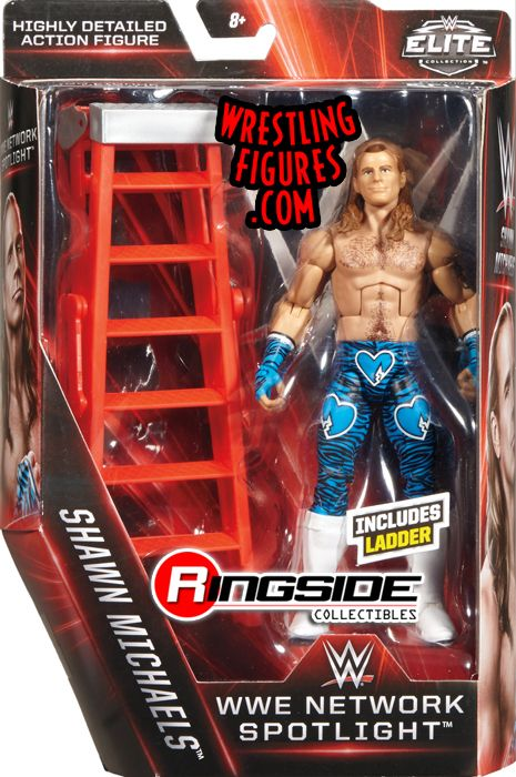 Shawn Michaels (HBK) - WWE Network Spotlight Exclusive WWE Toy Wrestling Action Figure by Mattel!