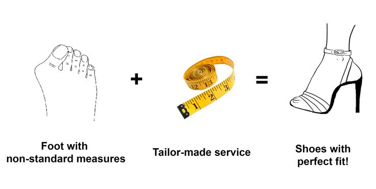 Foot with non-standard measures?? No problems with Italian Tango Shoes! with the tailor-made service we can obtain a perfect fit for each foot!  http://www.italiantangoshoes.com/shop/en/specials/204-taylor-made.html