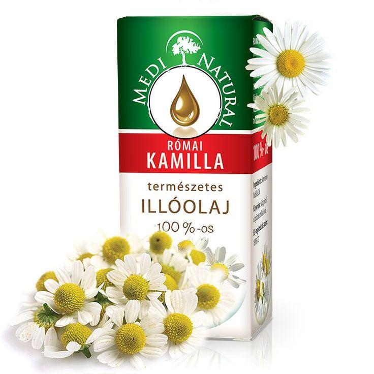 MEDINATURAL | RÓMAI KAMILLA ILLÓOLAJ (Anthemis nobilis oil )
