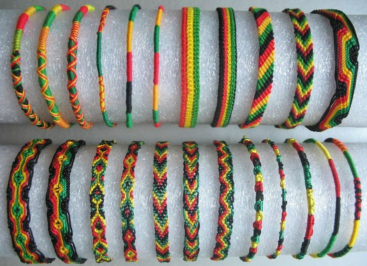 Rasta Friendship Bracelet | eBay
