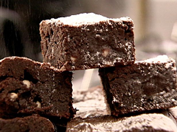 Triple Chocolate Brownies by Nigella...making it right now...