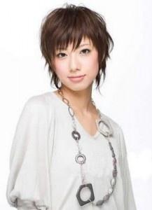 really cute mom  japanese short hair