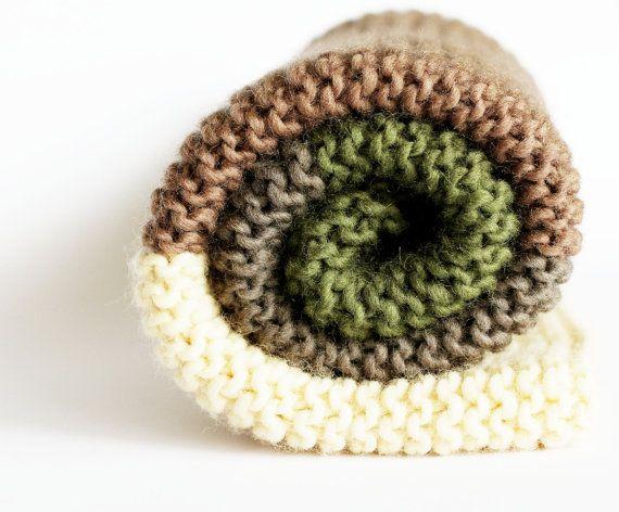 Maglia Baby coperta 100% lana passeggino accogliente di LalaKa