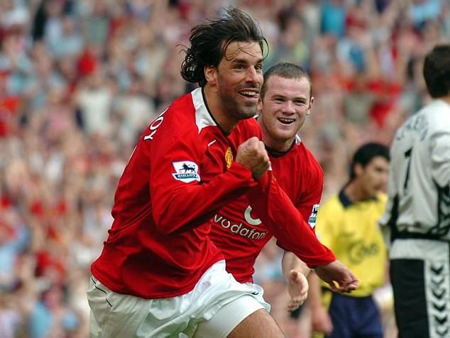 Ruud van Nistelrooy was the club's last great 'number nine', although he wore number ten