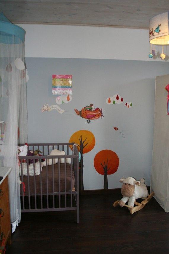 87 best fresque et peinture murale dans les chambres d 39 enfant images on pinterest wall - Peinture murale chambre enfant ...