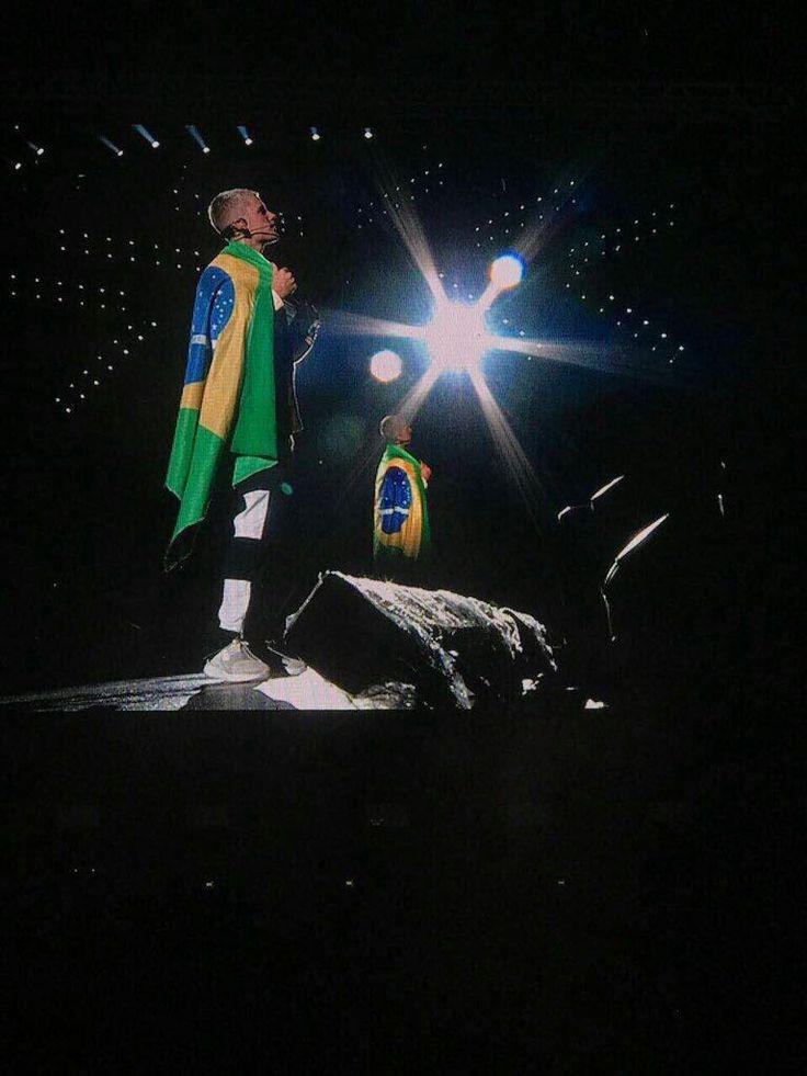 Justin #Brasil ❤ AINDA NÃO ACREDITO QUE EU ESTAVA NESSE SHOW