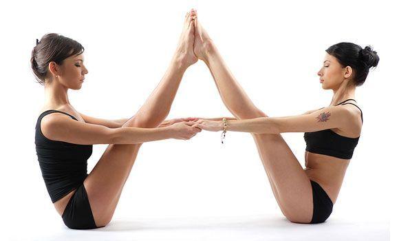 25 Best Ideas About Partner Yoga Poses On Pinterest
