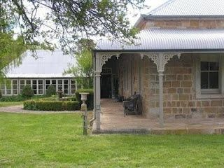 classic australian style, slightly curved roof line via Coty Farquhar