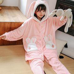 Cute Fashion, Teen Fashion, Korean Fashion, Fashion Outfits, Cute Pajama Sets, Cute Pajamas, Pyjama Sets, Flannel Pajamas, Silk Pajamas