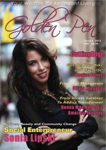 Leading Ladies issue 3, 2013 of Golden Pen Magazine