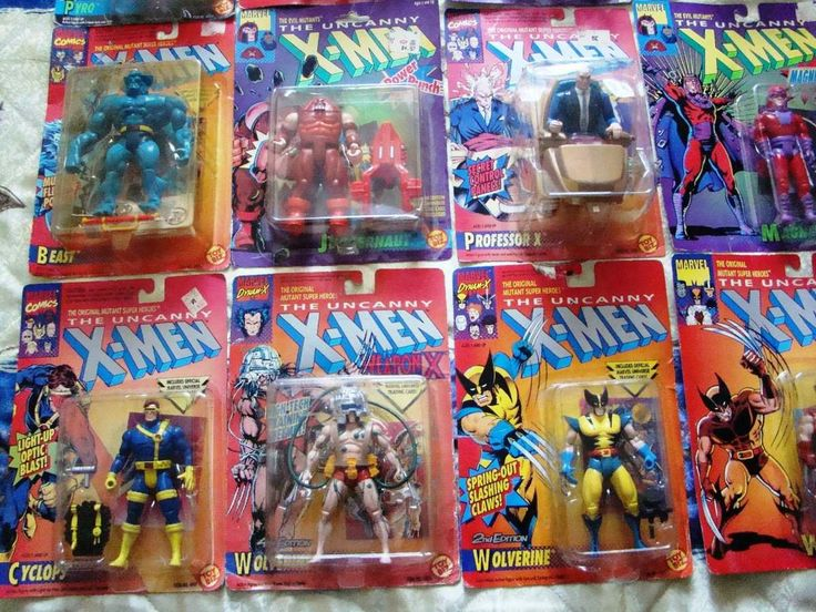 Boys Toys From The 80s : Xmen s toys for boys coleccionables gt figuras de