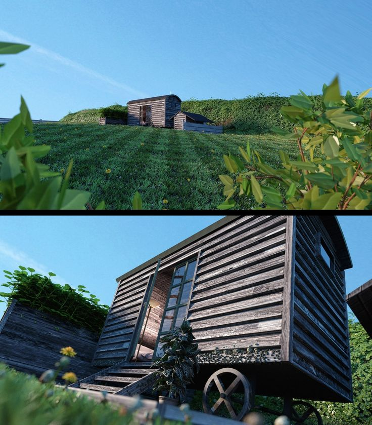 3D Visualisations For The Look Out in Cornwall
