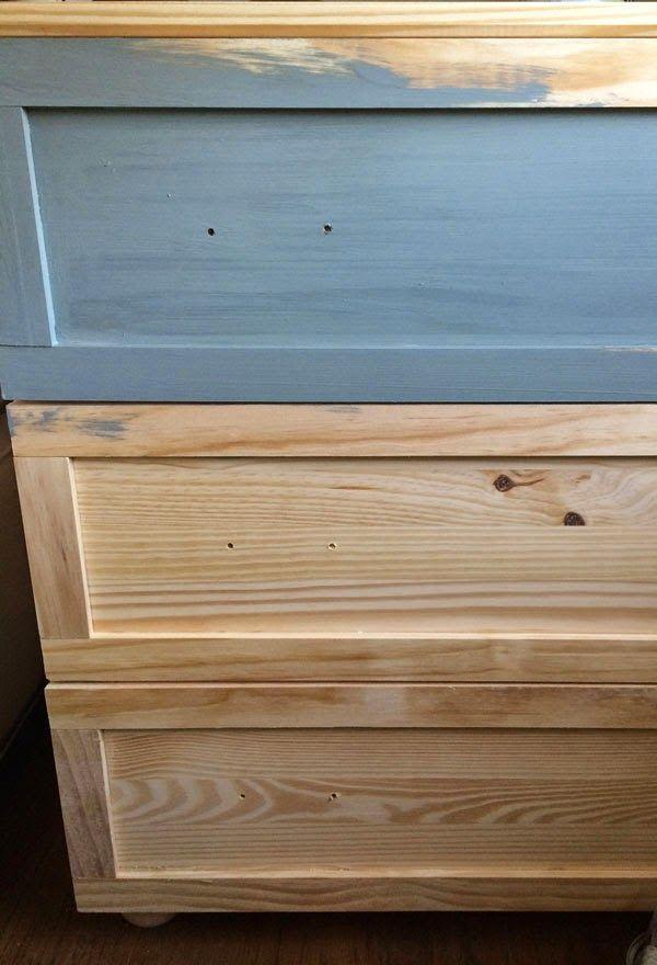 Dear Lillie Master Bedroom Night Stand Tutorial Ikea Tarva Hack Duxbury Gray