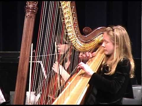 Community Youth Orchestras of Boston, Chamber Ensemble, Winter 2010, Debra Thoresen, Conductor, Deanna Cirielli on harp