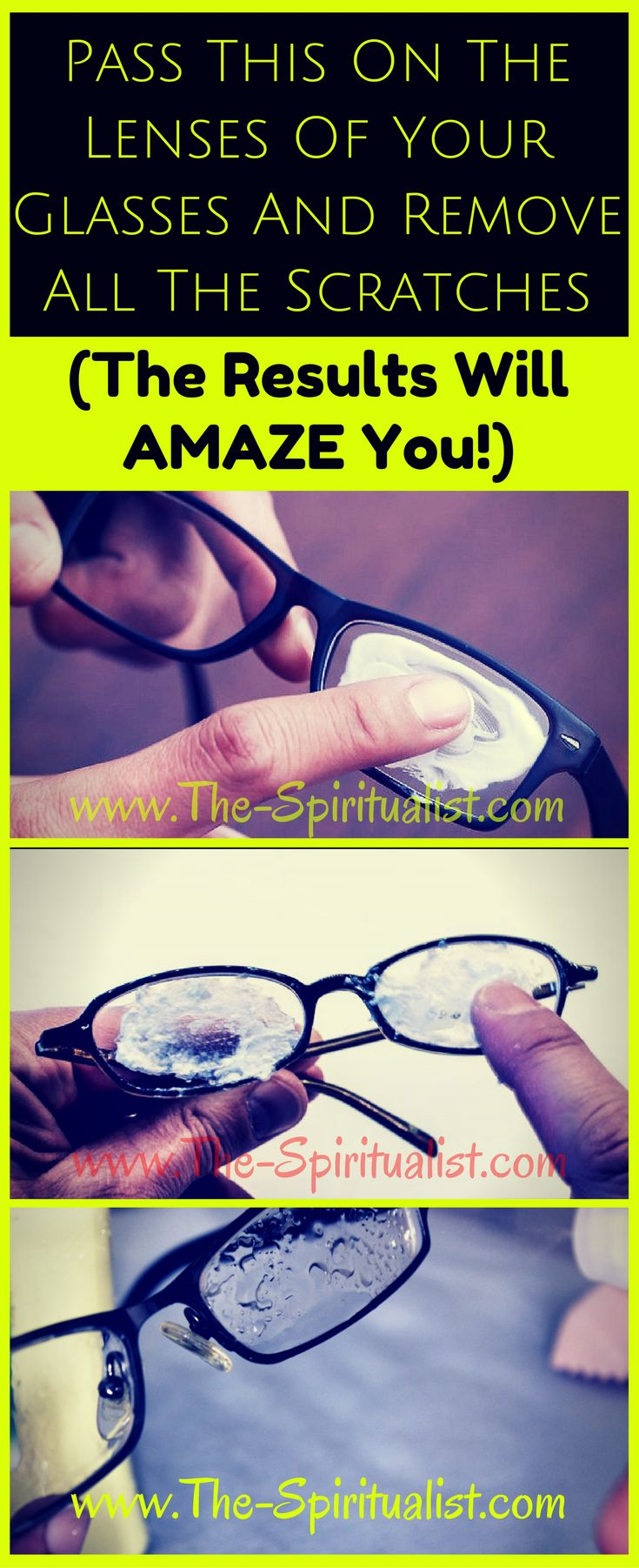 Apply THIS On the Lenses of Your Glasses and Remove All the Scratches (The Results Will AMAZE You!)