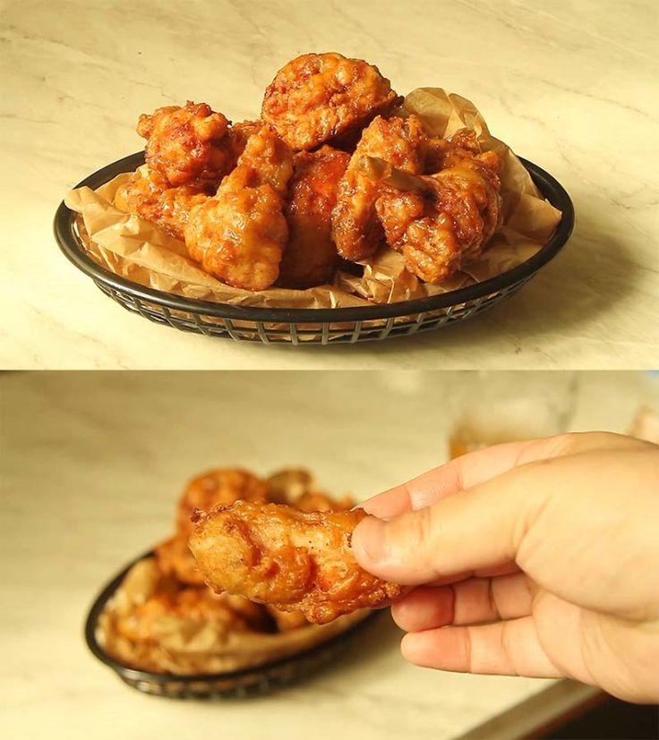 교촌치킨 허니콤보 집에서 만들기~ 동영상 레시피 제가 가장 좋아하는 치킨! 일명 최애치킨이 바로 교촌의 ...
