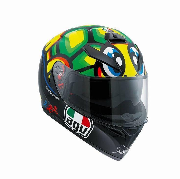New  AGV K3 SV Tartaruga Valentino Rossi 46 Full Face Motorcycle Helmet