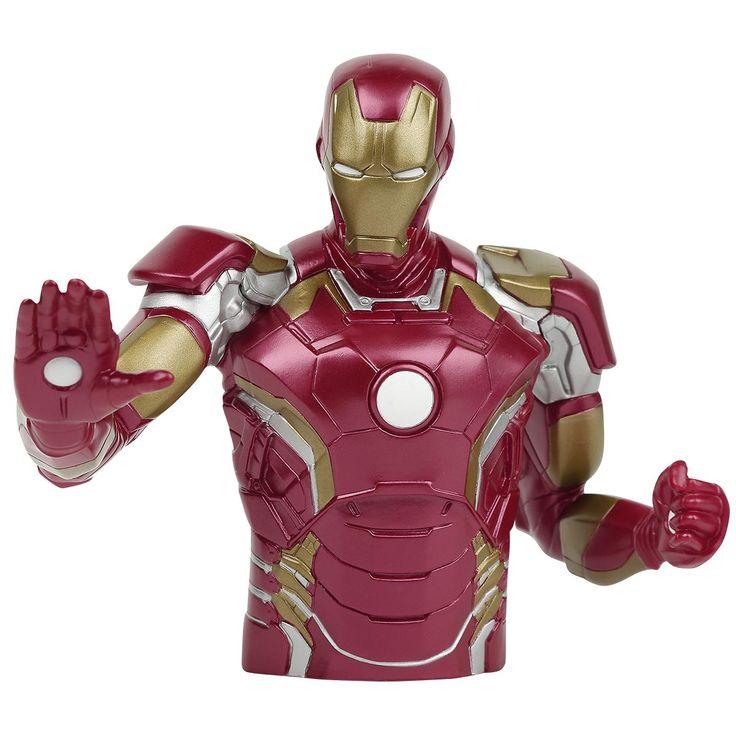 Salvadanaio di #IronMan. h.: 21 cm circa. l.: 25 cm circa.