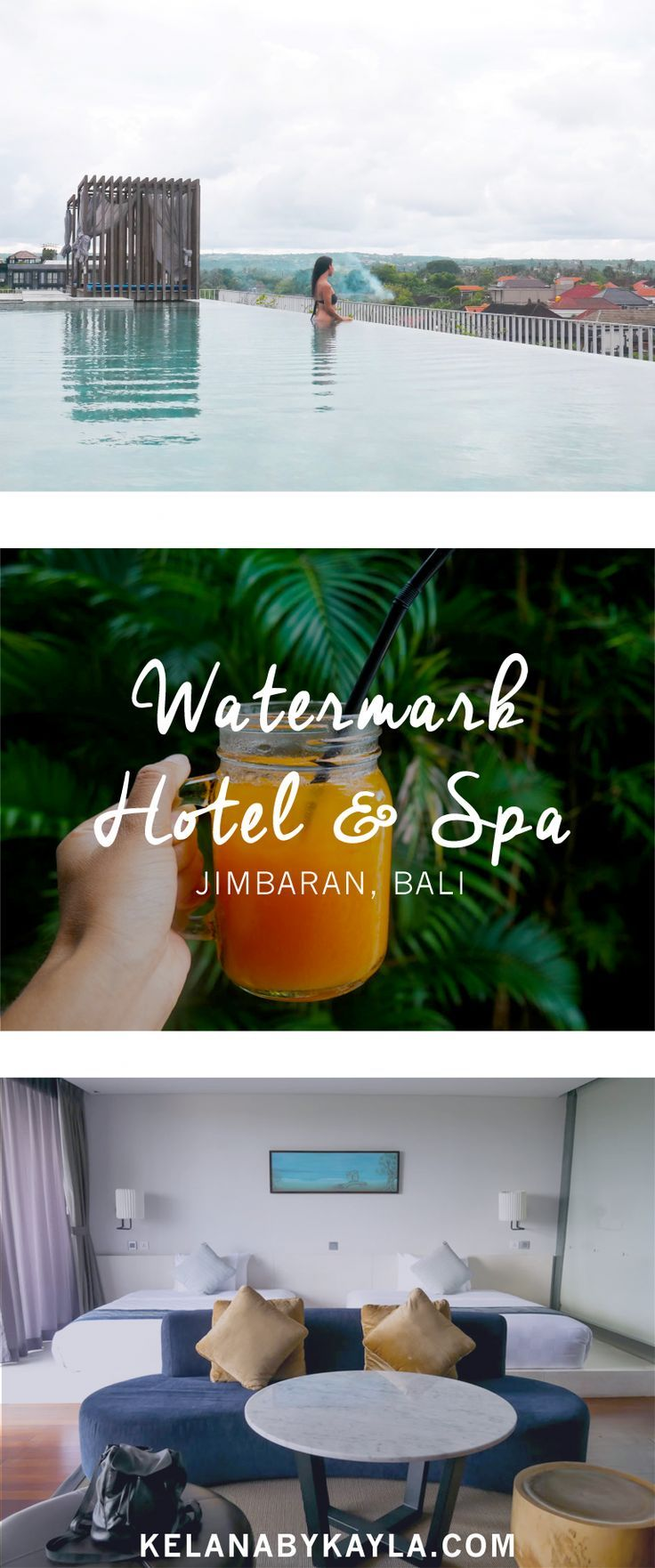 Watermark Hotel & Spa Bali is a 4-star hotel located just a few minutes walk from Jimbaran beach. Read on for our review.