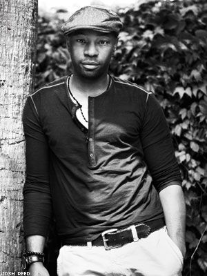 Nelsan Ellis, the only man other than Prince...that can totally look like he likes what I like...and I still like him. {r}