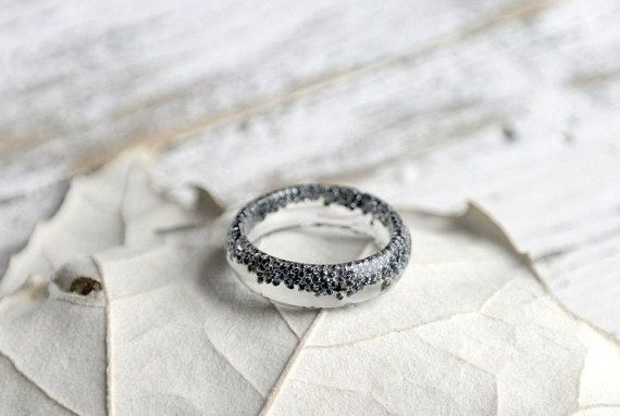 eco resina anello-REAL anello fiore-piante di LovelinessNature