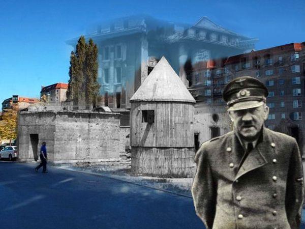 A kétszeres műkorcsolya-olimpiai bajnok Katarina Witt egykori lakása alatt lett öngyilkos Hitler. A Führer-bunkerben további öt ember választotta a halál ennek a formáját, és akkor a meggyilkolt hat Goebbels-gyermekről még nem is beszéltünk.     A Führer-bunker egykor és a helyére felépített lakótelep (Grafika:...