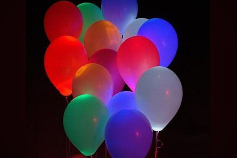 .: Nighttime Reception Led, Led Powered Balloon, Holiday Parties, Led Balloons Good, Idea, Led Balloons Love, Night Time, Reception Led Balloons, 10 Balloons