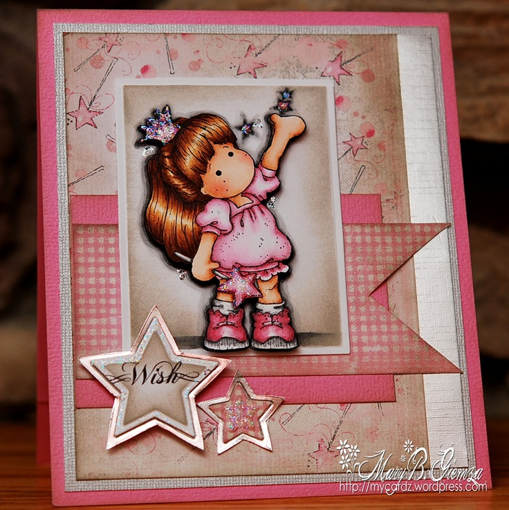 stars  Magnolia and cool Tilda Princess stamps catching wallet Prince collection