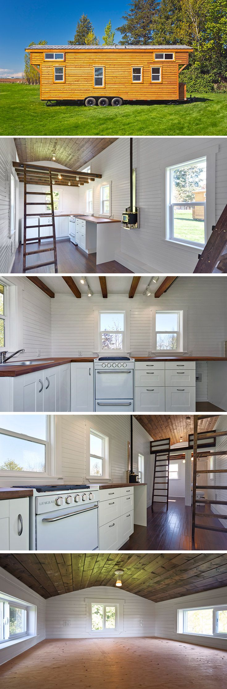 largest tiny house. The Loft Edition is Mint Tiny Homes  largest tiny house with trailers available from 24 4462 best House images on Pinterest Small houses