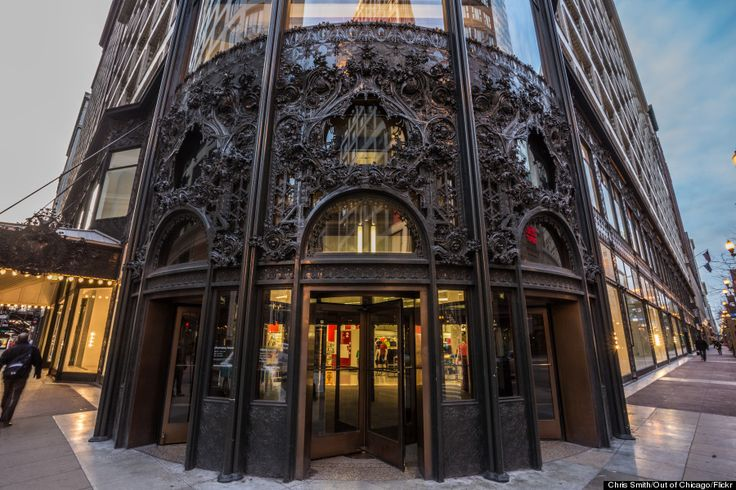 Carson, Pirie, Scott & Co. building (Louis Sullivan, Daniel Burnham) #Chicago #RealEstate #Architecture