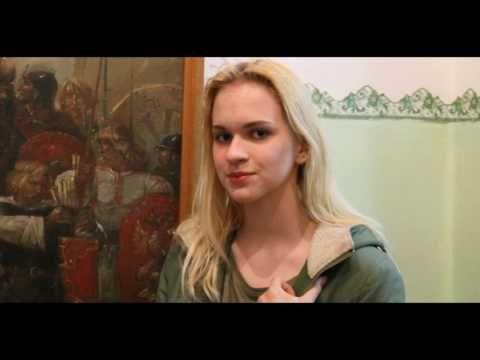 """Снимки с барнаульскими девушками.""""Музейной ночи""""."""