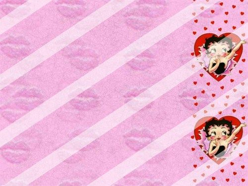 Betty Boop Edible Cake Topper Frosting 1/4 Sheet Image #86 ...