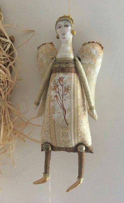 Cloth doll angel
