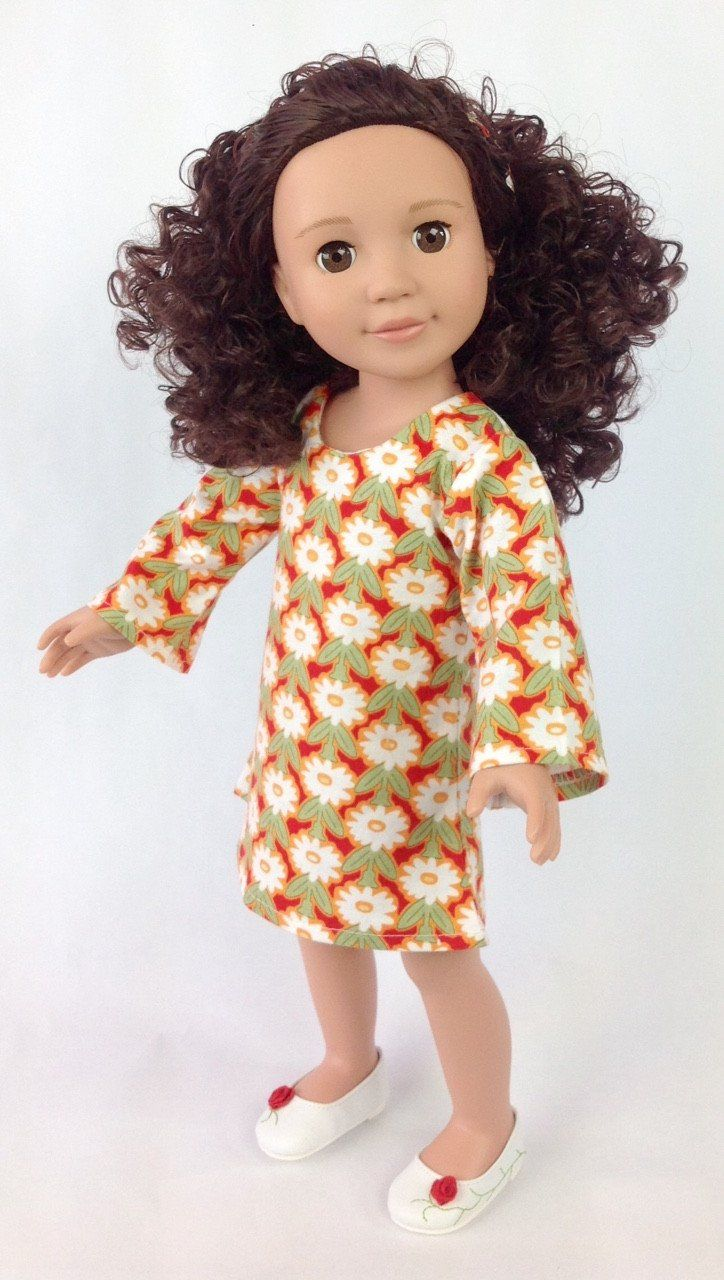 Monica: A Curly Girls United Doll, Gorgeous, soft curls your curly girl will LOVE. You have to feel it to believe it. Monica comes with glasses and a special head band. Great price for a Limited time. BrownEyedDolls.com
