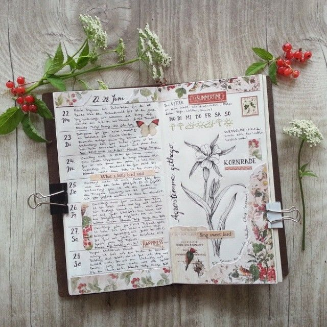 I love this journal! So unique