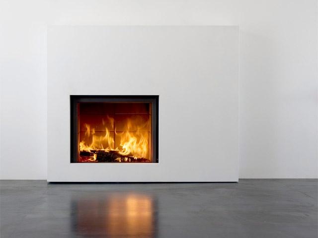 Stuv minimal wood burning
