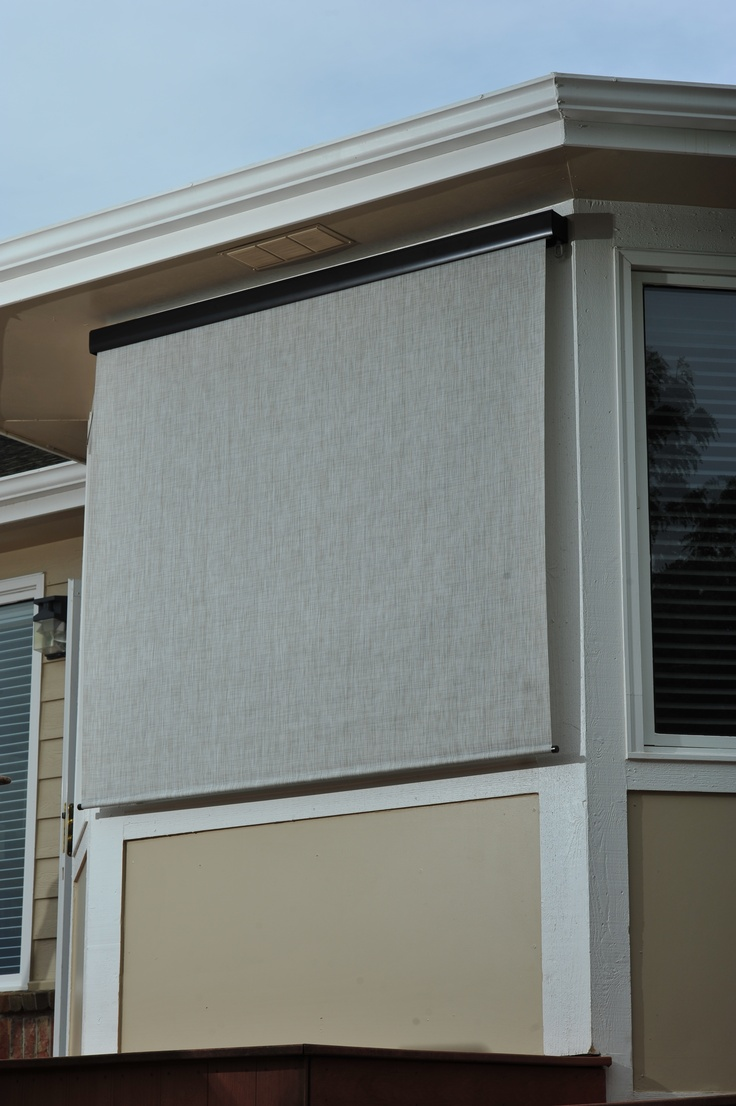 16 Best Exterior Solar Screen Shades Outdoor Shades Images On Pinterest Exterior Shades