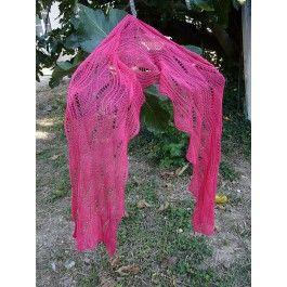 Wellen in Pink/Scarf von Sue Berg