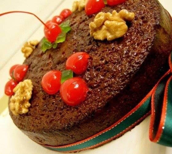 La torta negra, de origen europeo, se ha convertido en un postre clásico de las Navidades en casi todo el mundo