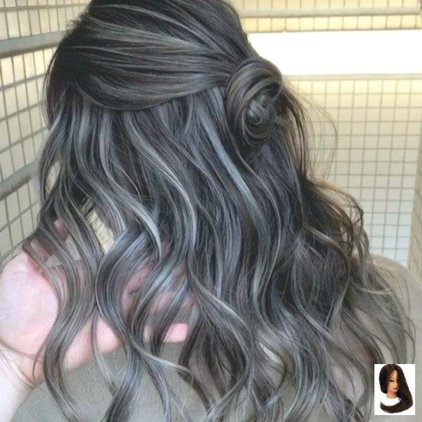 Amanha Black Hair With Lowlights Instagram Izumi Takahiro