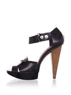 MARNI Women's Ankle-Strap Platform Sandal (Coffee)