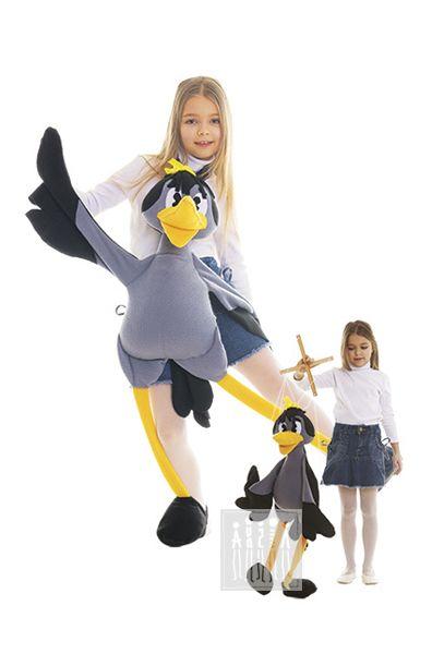 Карнавальный костюм Ворона (ростовая кукла для взрослых  130 см) Ворона…