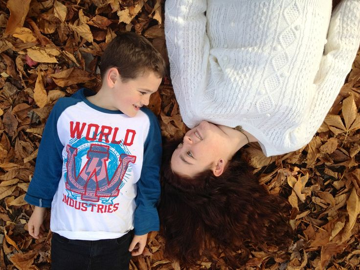 My brother and i at Healsville in Autumn <3