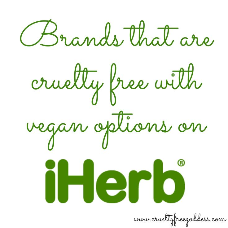 What brands are cruelty free with vegan options on iHerb? Check out my blog post to find out & to get $5 off your first purchase!