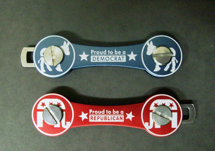 Democrat or republican, there's a HandyKey for you.