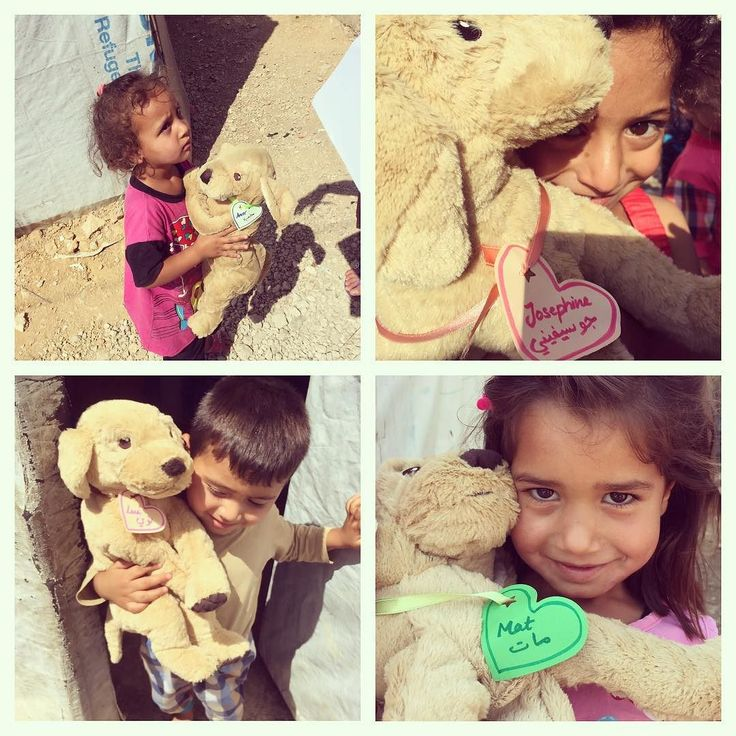 I am still working on the photo documentation about our visit to the refugee camps in Lebanon where with the help of the @himayaleb NGO I distributed fluffy friends to the Syrian refugee children. #ibelieveinfurrytails . . #fluffymission #fluffyfriendsforsyrianrefugeekids #mat #josephine #amor #lui  #antidepressants #holdontome #lovelaughlobilat #refugeechildren