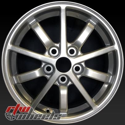 "Mitsubishi Eclipse oem wheels for sale 2000-2002. 16"" Silver rims 65771 - https://www.rtwwheels.com/store/shop/16-mitsubishi-eclipse-oem-wheels-for-sale-silver-rims-65771/"