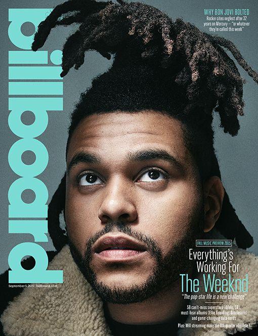 The Weeknd covers Billboard